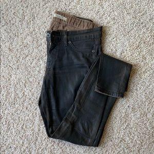 Rich & Skinny waxed skinny jeans